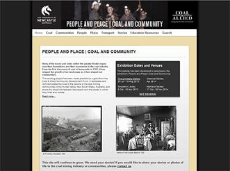 People and Place | Coal and Community Exhibition 24 July - 18 August 2013